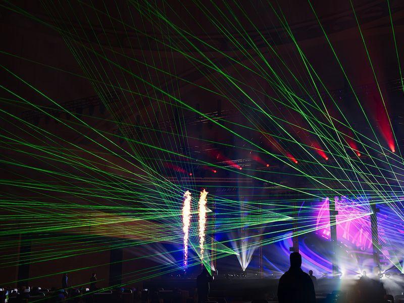 visualisatie lasershow