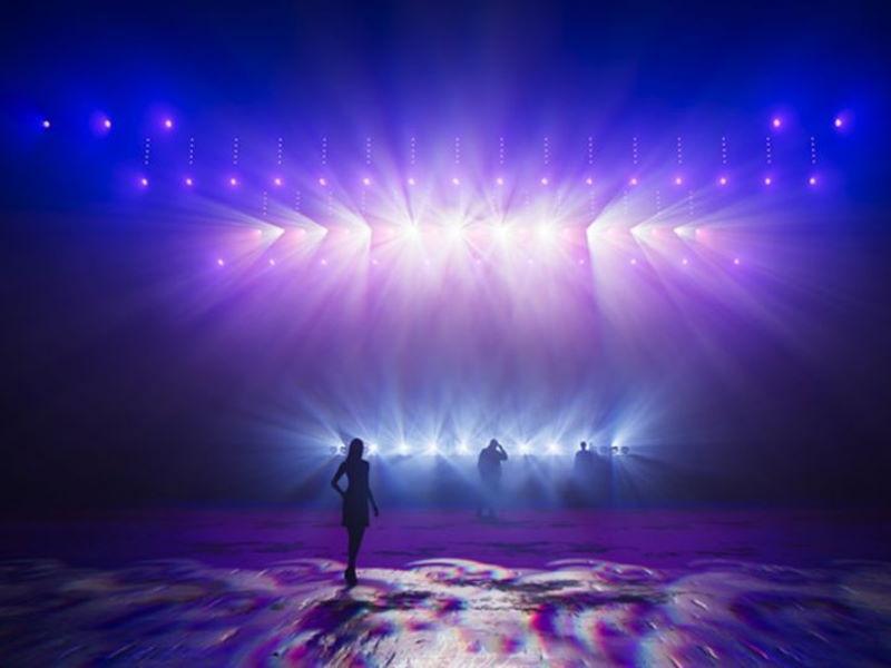 visualisatie lichtshow
